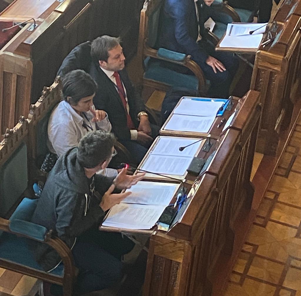 Comparecencia EAPN Asturias Comisión Derechos Sociales